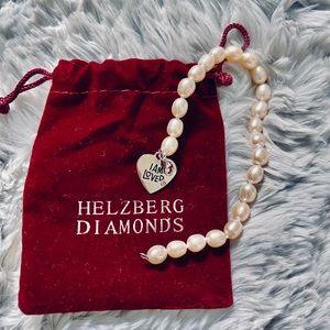 Herzberg Diamonds Pearl Bracelet